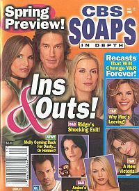 CBS Soaps In Depth March 22, 2005