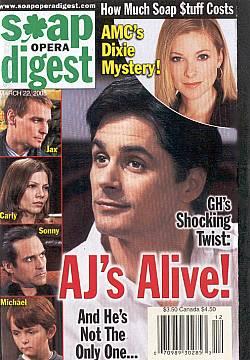 Soap Opera Digest March 22, 2005