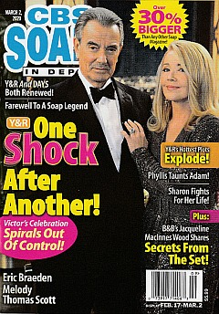 CBS Soaps In Depth March 2, 2020