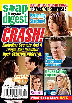Soap Opera Digest March 22, 2011