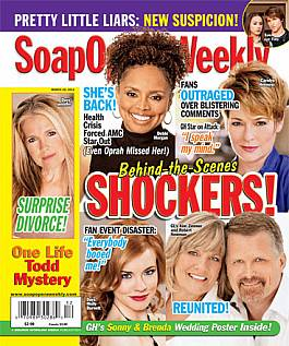 March 22, 2011 issue of Soap Opera Weekly magazine