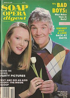 Soap Opera Digest March 22, 1988