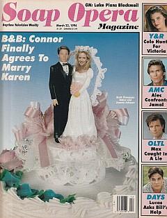 Soap Opera Magazine March 22, 1994