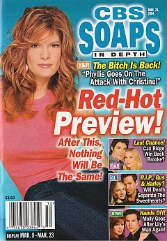 CBS Soaps In Depth March 23, 2004