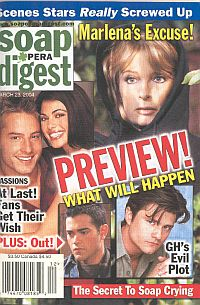 Soap Opera Digest March 23, 2004