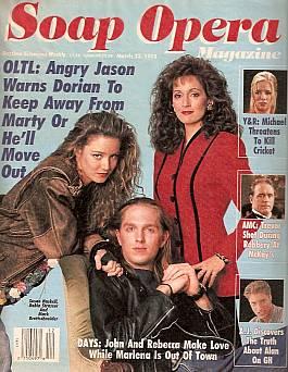 Soap Opera Magazine March 23, 1993