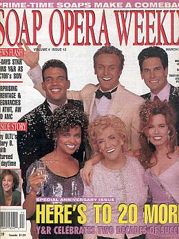 Soap Opera Weekly March 23, 1993