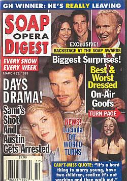 Soap Opera Digest - March 23, 1999