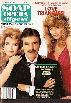 Soap Opera Digest March 24, 1987