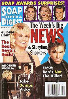 Soap Opera Digest - March 24, 1998