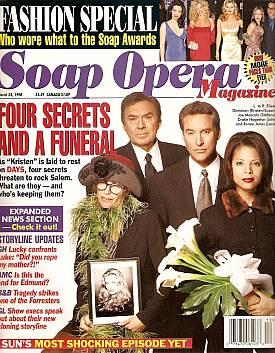 Soap Opera Magazine March 24, 1998
