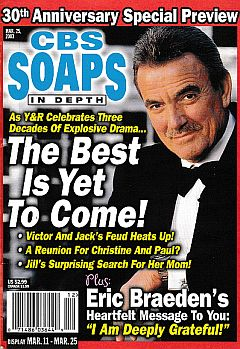 CBS Soaps In Depth March 25, 2003