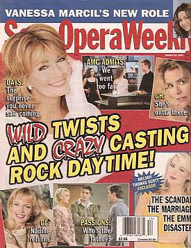 Soap Opera Weekly March 25, 2003