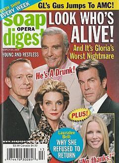 Soap Opera Digest March 25, 2008