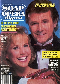 Soap Opera Digest March 25, 1986
