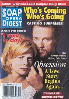 Soap Opera Digest - March 25, 1997