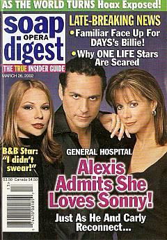 Soap Opera Digest March 26, 2002
