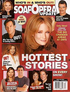 Soap Opera Update March 26, 2002