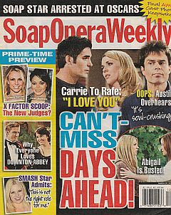 Soap Opera Weekly March 20, 2012