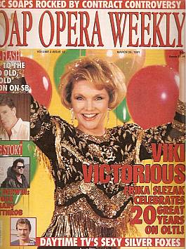 Soap Opera Weekly March 26, 1991
