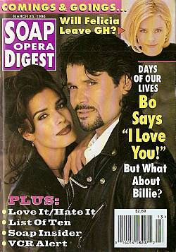 Soap Opera Digest - March 26, 1996