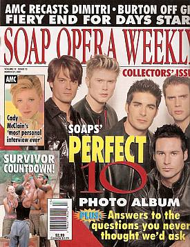 Soap Opera Weekly March 27, 2001