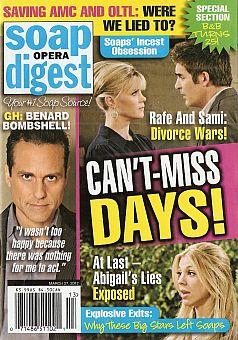 Soap Opera Digest March 27, 2012