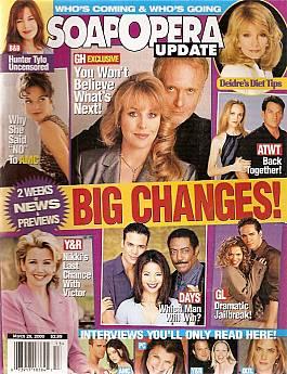 Soap Opera Update March 28, 2000