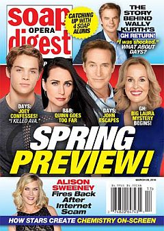 Soap Opera Digest March 28, 2016