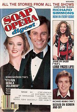 Soap Opera Digest - March 2, 1982