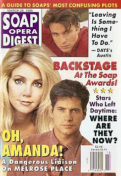 Soap Opera Digest - March 28, 1995