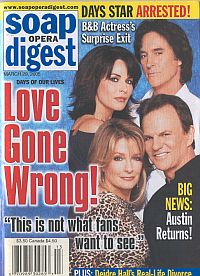 Soap Opera Digest March 29, 2005