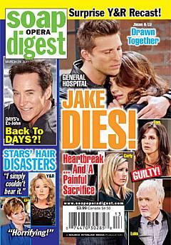 Soap Opera Digest March 29, 2011