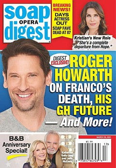 Soap Opera Digest March 29, 2021