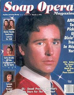 Soap Opera Magazine March 2, 1993