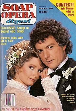 March 29, 1983 Soap Opera Digest