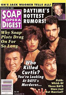Soap Opera Digest - March 29, 1994
