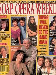 Soap Opera Weekly March 29, 1994