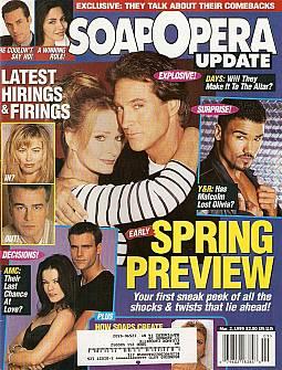 Soap Opera Update March 2, 1999