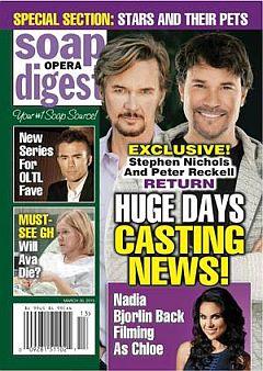 Soap Opera Digest March 30, 2015