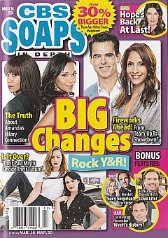 CBS Soaps In Depth March 30, 2020