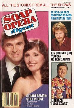 Soap Opera Digest - March 30, 1982