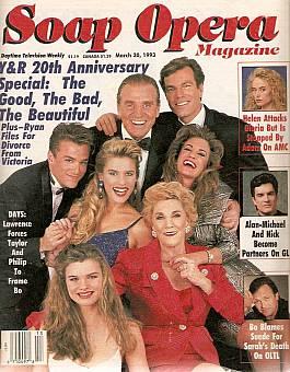 Soap Opera Magazine March 30, 1993