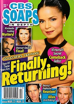 CBS Soaps In Depth March 31, 2008
