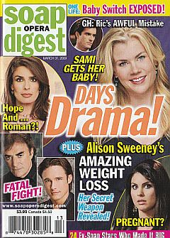 Soap Opera Digest March 31, 2009