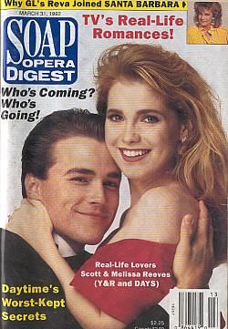 March 31, 1992 Soap Opera Digest