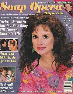 Soap Opera Magazine March 31, 1992