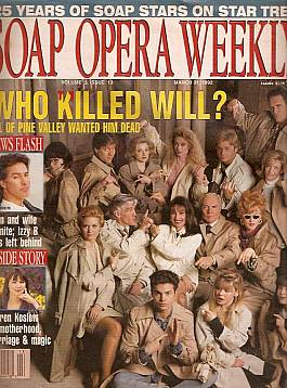 Soap Opera Weekly March 31, 1992