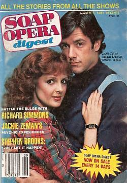 March 3, 1981 issue of Soap Opera Digest