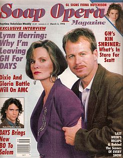 Soap Opera Magazine March 3, 1992